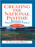 Creating the National Pastime