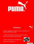 SWOT Analysis of Puma