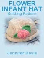 Flower Infant Hat