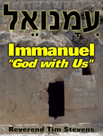 "Immanuel ~ ""God with Us"""