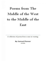 Poems From The Middle Of The West To The Middle Of The East
