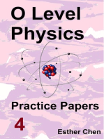 O level Physics Practice Papers 4
