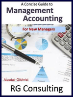 Management Accounting for New Managers