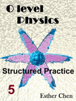 O level Physics Structured Practice 5