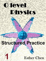 O level Physics Structured Practice 1