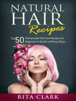 Natural Hair Recipes