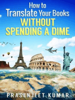 How to Translate Your Books Without Spending a Dime