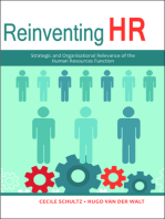 Reinventing HR: Strategic and Organisational Relevance of the Human Resources Function