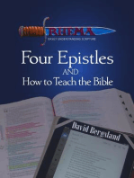 Four Epistles and How to Teach the Bible