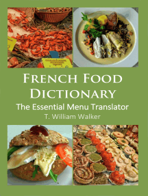 French Food Dictionary: the Essential Menu Translator