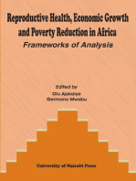 Reproductive Health, Economic Growth and Poverty Reduction in Africa