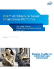 Intel Architecture Based Smartphone Platforms