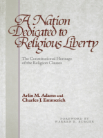 A Nation Dedicated to Religious Liberty
