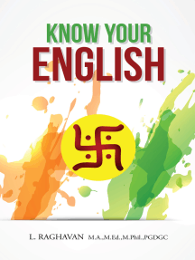 Know Your English