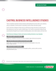Castrol Business intelligence studies