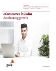 eCommerce in India  Accelerating growth