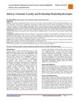 Case Study on Subway Customer Loyalty and Evaluating Marketing Strategies