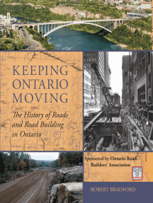 Keeping Ontario Moving: The History of Roads and Road Building in Ontario