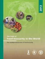 The State of Food Insecurity in the World 2013