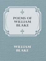 Poems of William Blake - Songs of Innocence and of Experience and The Book of Thel