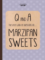 The Little Book of Questions on Marzipan Sweets (Q & A Series)