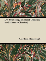 Dr. Muncing, Exorcist (Fantasy and Horror Classics)