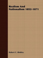 Realism And Nationalism 1852-1871
