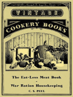 The Eat-Less Meat Book - War Ration Housekeeping