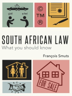 South African Law: What you should know