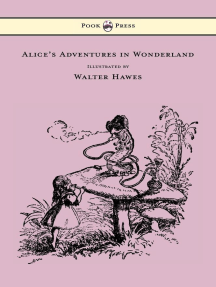 Alice's Adventures in Wonderland - Illustrated by Walter Hawes