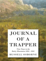 Journal of a Trapper - Nine Years in the Rocky Mountains 1834-1843