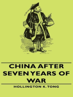 China After Seven Years Of War