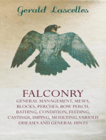 Falconry - General Management, Mews, Blocks, Perches, Bow Perch, Bathing, Condition, Feeding, Castings, Imping, Moulting, Various Diseases and General