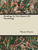 Readings In The History Of Psychology