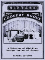 A Selection of Old-Time Recipes for Boiled Sweets