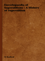 Encyclopaedia of Superstitions - A History of Superstition