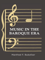 Music in the Baroque Era - From Monteverdi to Bach