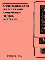 Annemanns Card Miracles And Annemanns Mental Mysteries