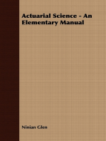 Actuarial Science - An Elementary Manual