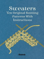 Sweaters - Ten Original Knitting Patterns With Instructions