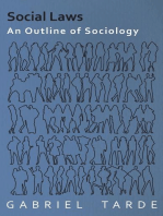 Social Laws - An Outline of Sociology