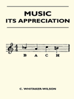 Music - Its Appreciation