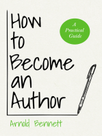 How to Become an Author - A Practical Guide