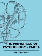 The Principles of Psychology - Vol. I.