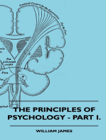 The Principles of Psychology - Vol. I.