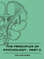 The Principles of Psychology - Part II.
