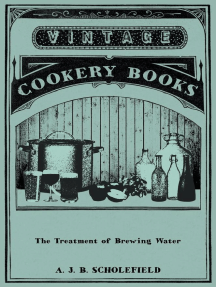 The Treatment Of Brewing Water