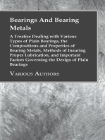 Bearings And Bearing Metals