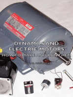 Dynamos And Electric Motors - How To Make And Run Them