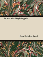 It was the Nightingale